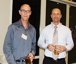 Armin Walter (EFTEV Thailand) and Anders Breindahl (MD Asiawise).