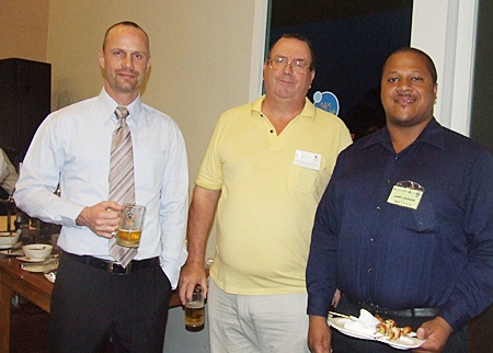 Anders Breindahl (MD Asiawise), John Clarke (CEO Forbears Freedom Wealth Management), Larry Jackson II (Arun Chaiseri Consulting Engineers).