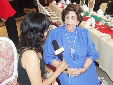 Arlette chats with Sue of PMTV.
