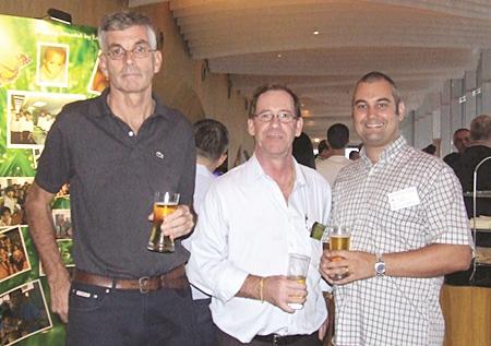 Terry Fitzsimmons (Big Mango Properties), Richard Arthur (BizHouse), and Craig Turner (Rightmove Pattaya), are regulars at the networking functions.