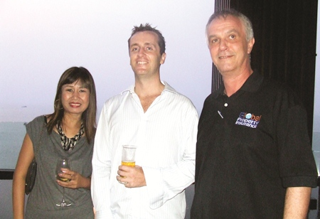 Nikki Chaikhundechanuwat is the loveliest compared to Stuart Foulkes (Business Class Asia) and Rainer Heinzmann (Global Property Insurance).