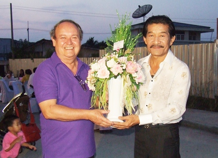 Friends and clients bring an abundance of good wishes for Puvana's successful future.