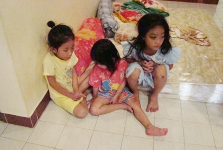 Four local social welfare organizations are trying to find a way to help young Cambodian children like these.