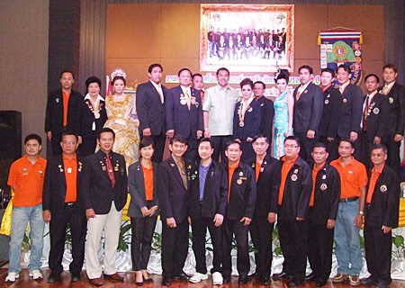 The Lions Club of Naklua-Pattaya celebrated its 10th anniversary with community leaders and other area club members.