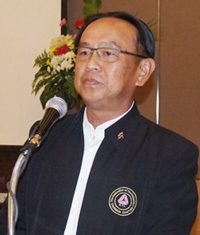 The PBTA's new president, Wiwat Pattanasin.