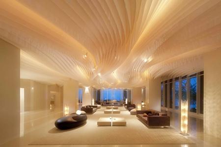Hilton Lobby.