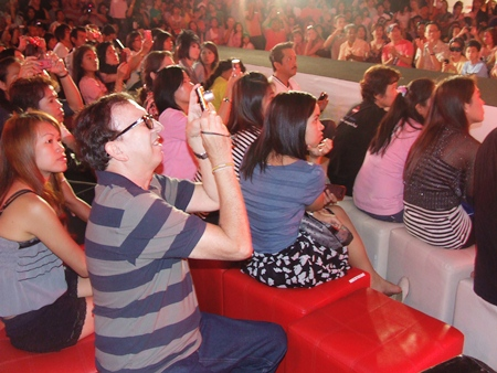 Members of the public came in large numbers to enjoy the fashion show and the musical entertainment.