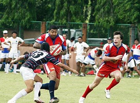 Exciting action from the Chris Kays Pattaya Rugby 10's Festival.