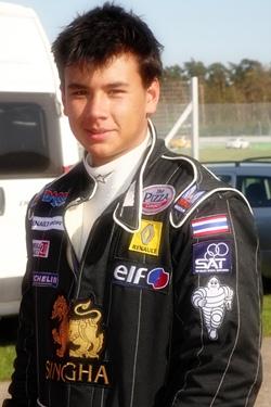 Local racing prodigy Sandy Stuvik.