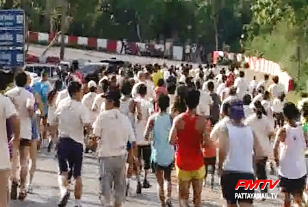 Hundreds take part in the walk-run event