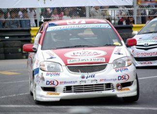 Racing Vios at Bang Saen