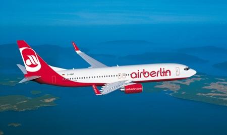 Air Berlin to increase flights between Berlin-Tegel and Phuket this November.