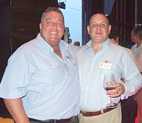 Kevin Fisher (CEA) and Garry Irvin (Resource Link Recruitment) talk racing.