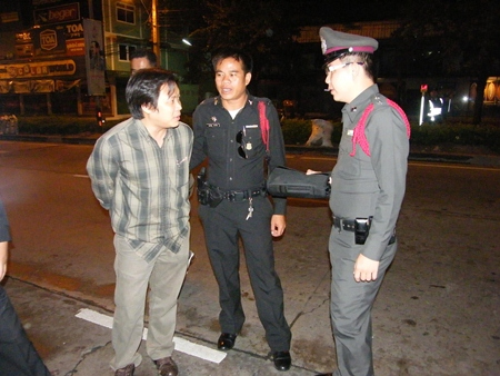 Wichai (left) confessed to the shooting, claiming he did so in self defense after being beaten up.