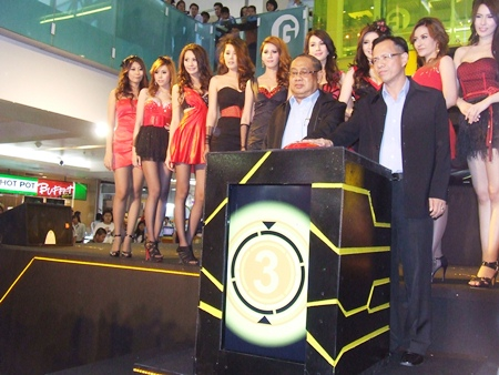 Officials open the annual Harbor Motor Show in Laem Chabang.