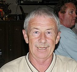 'Snowball' winner Terry Mangan.