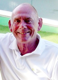 Ray Spence is all smiles after his recent golfing successes.