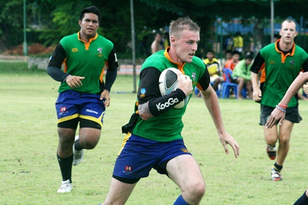 Pattaya Panthers on the charge.