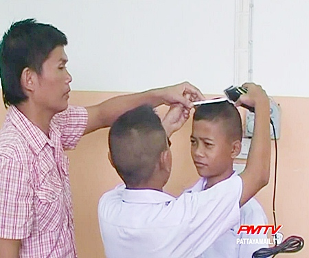 Even teenagers were keen to learn new skills.