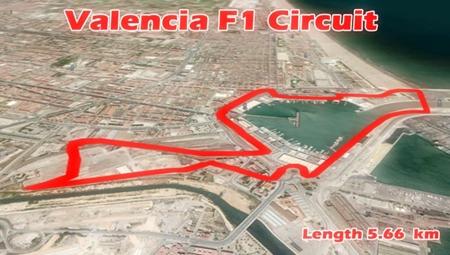 Valencia, racing around the docks