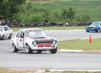 Securitas Retro racing Escort