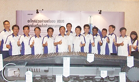 ItalThai Industrial Co. will open a Volvo Construction Equipment sales office in Chonburi by month's end.