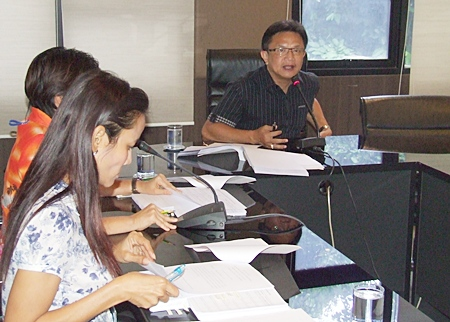 Deputy Mayor Wutisak Rermkitkarn explains why the promised relief funds haven't been forthcoming.