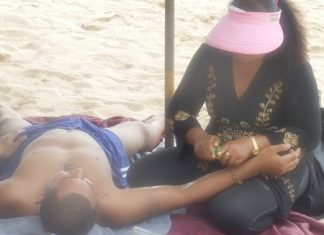 Pramote Sapsang, director of the city's Natural Resources Department, says that beach masseuses are unregulated and none have licenses.