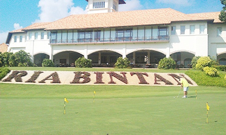 Ria Bintan, the world renowned Gary Player course.