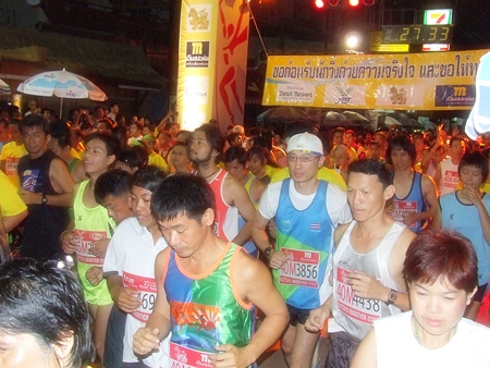 The annual Pattaya City Marathon will take place this year on Sunday, July 17.