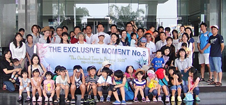 Kasemkij Hotels recently hosted their annual 'Exclusive Moment' thank you activity for guests.