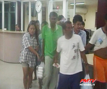 Even though these gamblers were only playing for a small amount of money, they were charged at the police station.