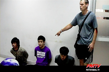 The culprits are pointed out in typical Pattaya fashion.