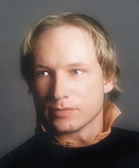 This is an undated image obtained from the Twitter page of Anders Behring Breivik, 32, who was arrested in connection to the twin attacks on a youth camp and a government building in Oslo, Norway. (AP Photo/Twitter, Anders Behring Breivik)