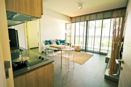 The show suite of Raimon Land's luxury Zire Wongamat project.