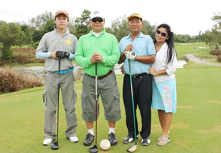 Lions Club golfers all set for the Challenge of Siam Country Club.