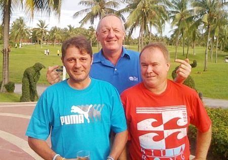 Mark Wood, Bob Newell & Brad Gearie.