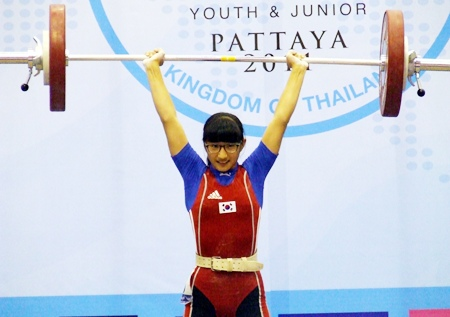 Park Min Kyung of South Korea took overall bronze in the Girls 53kg class.