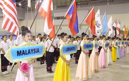 34 nations from across Asia took part in the event.