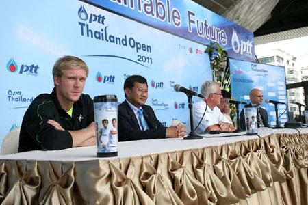 PTT Thailand Open 2011 Main Draw Announced - Pattaya Mail