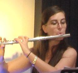"Alina Gabriela Suwannakoot on flute gave a great rendition of ""The Swan""."