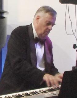 Ben Hansen on piano.