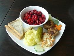Beetroot salad.