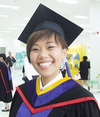 Students rarely smile as happy as they do at their Graduation Day.