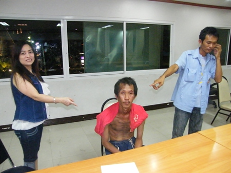 Victims point to the ex-security guard thief.