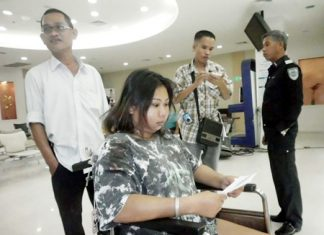 Saichol Moeklin is treated for her injuries and released from hospital.
