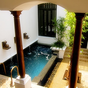 Pool Villa, The Siam, Bangkok.
