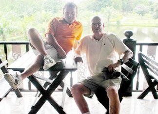 Pattana winners: Paul Smith and John Harvey.