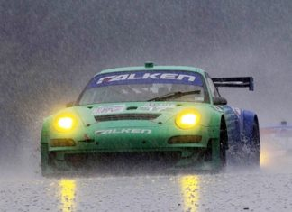 Falken well wet.
