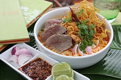 Enjoy tasty beef dishes at Ginger and Lime.